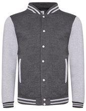 BaseBall Jacket Charcoal - grijs