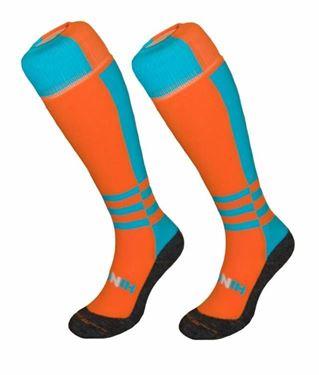 Funkous Twisted Orange Turquoise