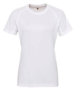 Picture of SALE Women's panelled TriDri T-shirt White XL