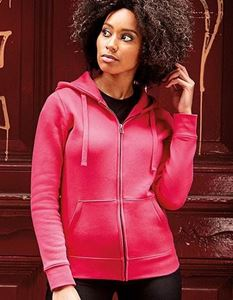 Ladies` Authentic Zipped Hood Jacket Russell Russell