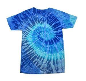 Feest T-shirt Blue Jerry
