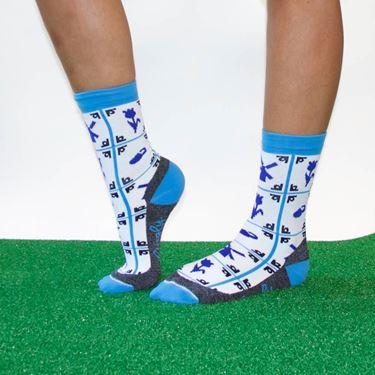 Delfts blauwe sportsok