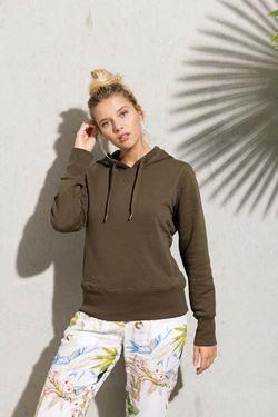 Dames Sweater Met Capuchon BIO