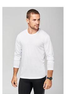 Heren Sport T-Shirt Lange Mouw