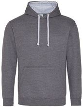 Picture of Varsity Hoodie Charcoal (Heather) - Heather Grey