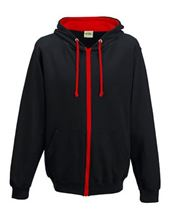 Picture of Varsity Zoodie Jet Black / Fire Red