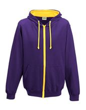 Picture of Varsity Zoodie Purple / Sun Yellow