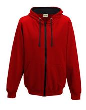 Picture of Varsity Zoodie Fire Red / Jet Black