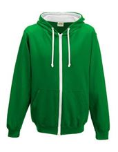 Picture of Varsity Zoodie Kelly Green / Arctic White