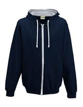 Picture of Varsity Zoodie New French Navy / Heather Grey