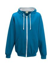 Picture of Varsity Zoodie Sapphire Blue / Heather Grey