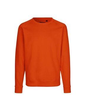Oranje sweater organisch katoen