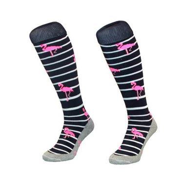 Hingly Stripe Flamingo Navy