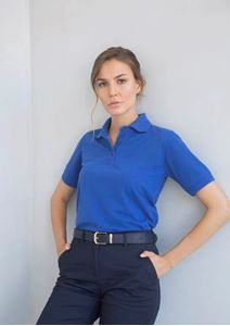 Henbury Ladies 65/35 Classic Piqué Polo Shirt