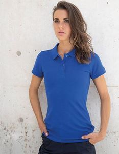 Henbury Ladies Microfine-Piqué Polo Shirt