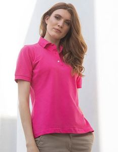 Henbury Ladies Classic Cotton Piqué Polo Shirt