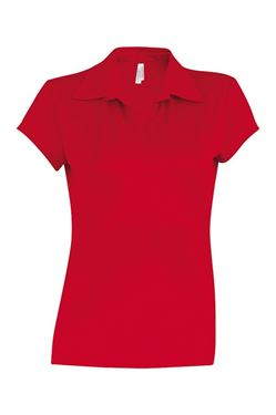 Picture of Proact Sneldrogende Cool Plus Dames Sportpolo Red M