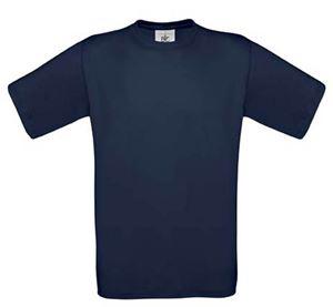 Afbeelding van 5 Exact 150 T-shirts B&C Navy XXL