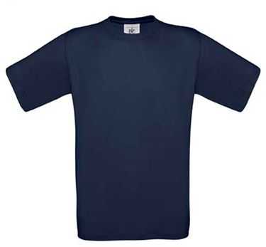 Picture of 5 Exact 150 T-shirts B&C Navy XXL