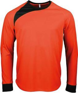 Afbeelding van SALE Kinder Keepersshirt lange mouwen Proact Fluoriserend Oranje maat 140
