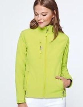 Nebraska Woman Softshell Jacket Roly