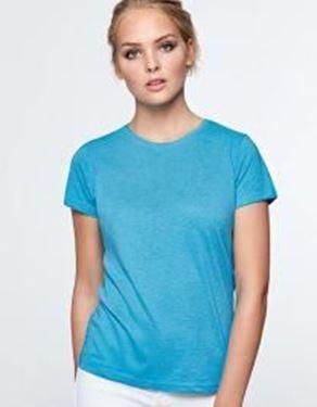 Fox Woman T-Shirt Roly RY6661
