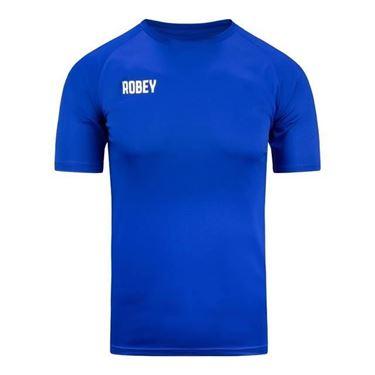 Robey Counter Shirt Korte Mouw Blauw
