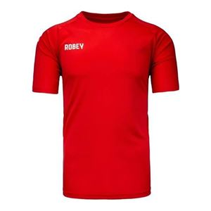 Robey Counter Shirt Korte Mouw Rood