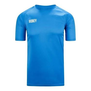 Robey Counter Shirt Korte Mouw Sky Blue