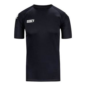 Robey Counter Shirt Korte Mouw Zwart