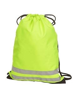 Drawstring Reflective Gym Bag
