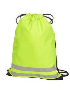 Drawstring Reflective Gym Bag
