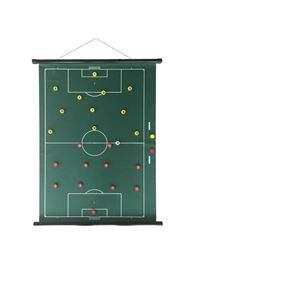 Sportec Oprolbaar Magnetisch Coachbord Voetbal 74 X 100 Cm