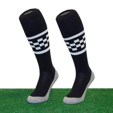 Funkous Checker Stripe Black-White