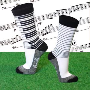 Hingly Piano Crew Sock