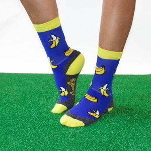 Hingly Crew Socks Banana