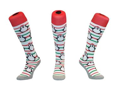 Hingly Stripe Pinguin Christmas Funkous