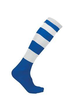 Gestreepte Sportsok Proact Donkerblauw - Wit
