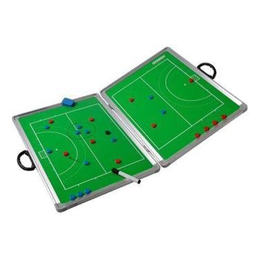 Sportec Opvouwbaar Magnetisch Coachbord Hockey 90 x 60 cm