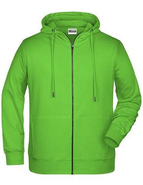 James Nicholson Men`S Zip-Hoody