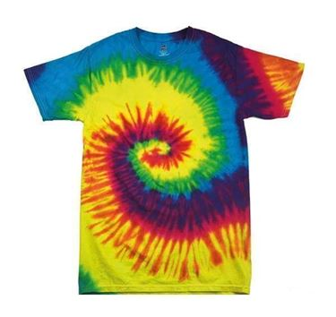 Tie-Dye Shirt Rainbow