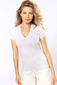 Dames T-Shirt BIO150 V-Hals