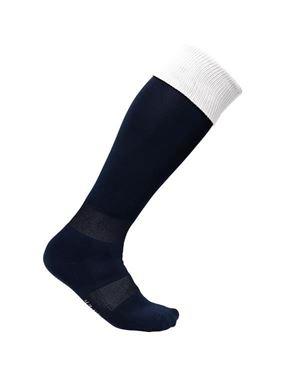 Sportsokken Donkerblauw - Wit