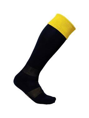 Zwart gele sportkousen