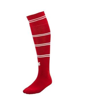 Robey Sartorial Socks Red / White Stripe