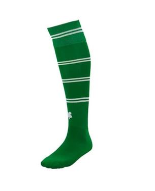 Robey Sartorial Socks Green / White Stripe