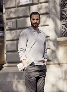 Afbeelding van Clique Basic Polo Sweater