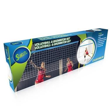 Scatch Volleybal En Badminton Set