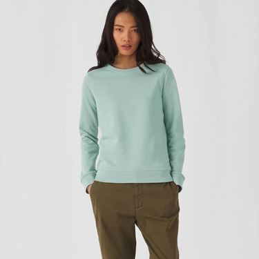 B&C Organic Crew Neck Sweat Women