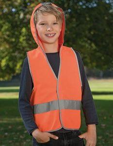 Kids Hooded Safety Vest EN 1150